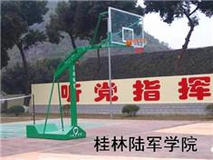 桂林阳朔福利中学篮球架安装