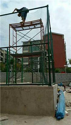 兴安柘园学校围网篮球
