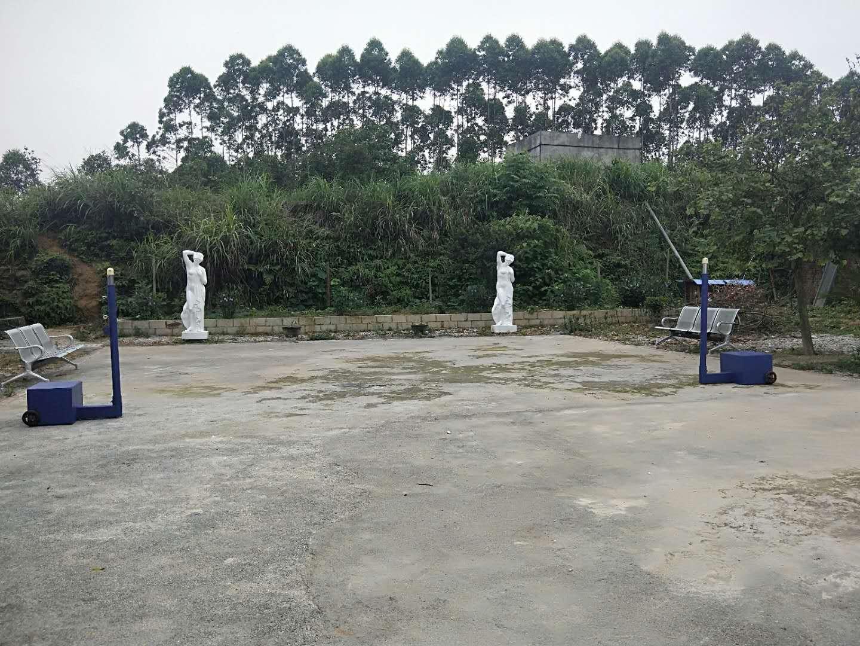 柳州苗圃园羽排球柱安装