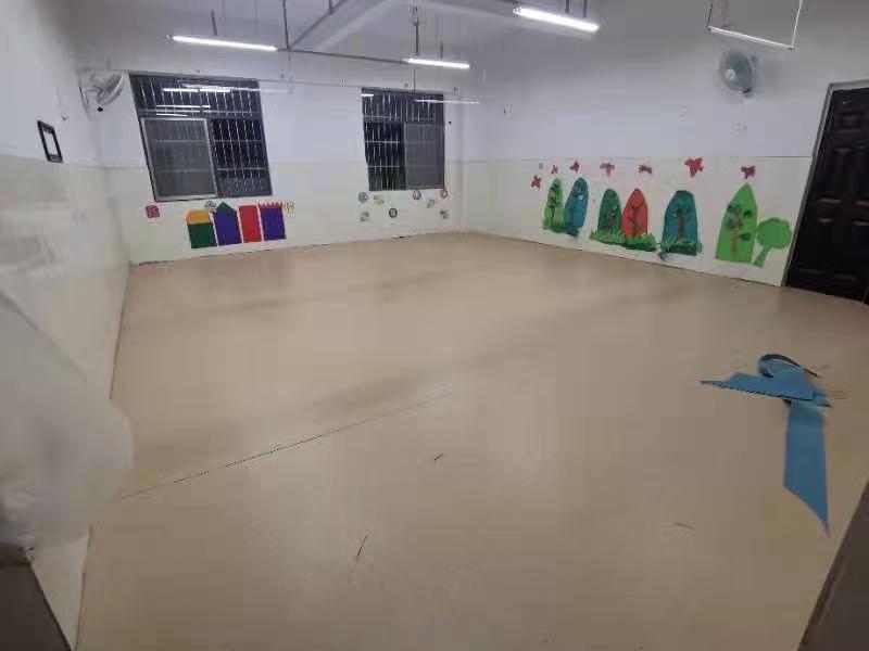 浦北福旺幼儿园PVC塑胶地板