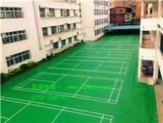 柳州市十五中学羽气排球场工程竣工