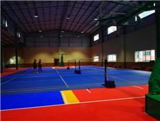 柳州巡警支队室内拼装地板篮球场