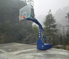 资源移动篮球架安装