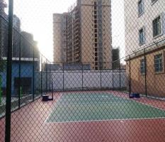 钦州围网硅pu排球场施工
