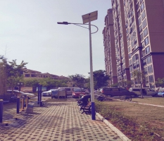 柳州正和城太阳能灯杆