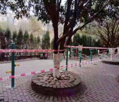 桂林兴安湘江纪念公园新国标建身器材安装