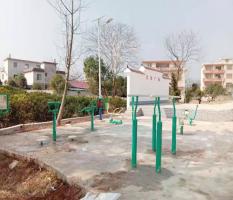 桂林兴安界首镇城东城子山村新国标健身器材安装