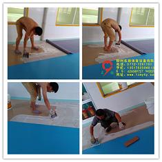 柳州鹿寨幼儿园PVC地板
