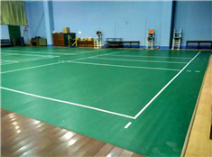 pvc运动地板排球场