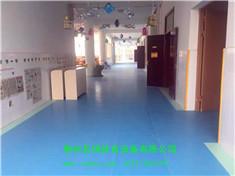 走廊聚脲塑胶地坪及幼儿园pVC地胶