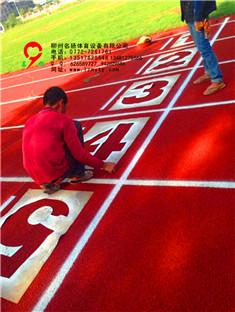 广西柳州体育跑道案例图