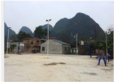 林桂篮球架及灯杆案例