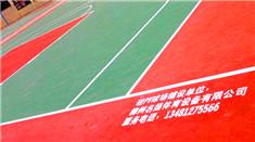 广西柳州名扬体育厂家提供塑胶田径场及塑胶网球场、篮球场