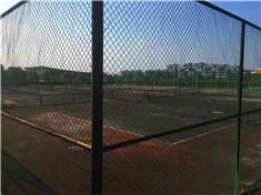 广西桂林理工大学网球场围网厂家专业安装