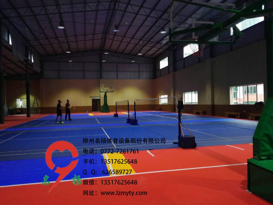 柳州巡逻警察之队PVC运动地板