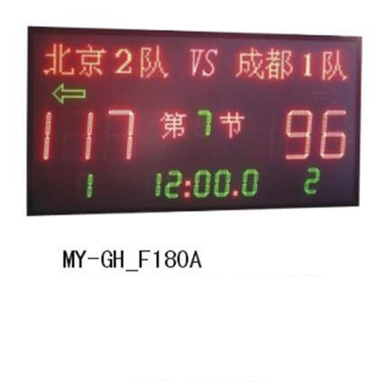 多功能小型电子计分牌MY-GH-F180A