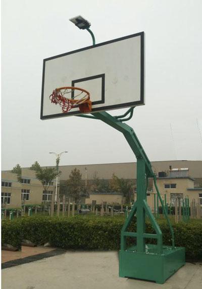 移动式太阳能篮球架MYHJ-1005T