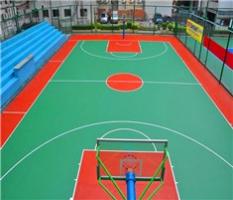 室外篮球场pvc塑胶地板