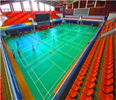 PVC运动地板篮球场