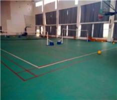 柳州PVC塑胶运动地板球馆
