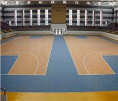 室内PVC篮球地板
