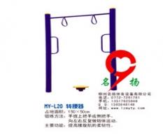 柳州鱼峰健身器材转腰器