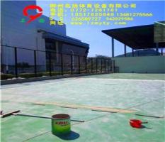 灌阳网球馆硅Pu、围网竣工