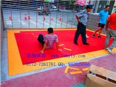 pvc塑胶拼装地板图片