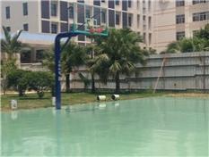 篮球架及篮球场施工