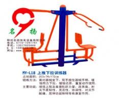 广西柳州室外健身器材-上推下拉训练器