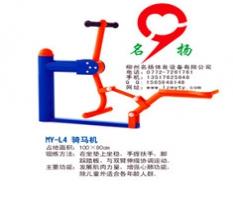 骑马机的锻炼方法及功能