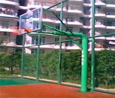 柳州谷埠街篮球架安装