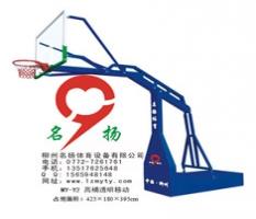 广西北海市防城港市高桶透明移动篮球架厂家提供