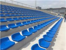 体育看台坐椅安装工程