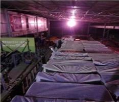 发往桂林资源县的室外健身器材两辆大货车加班装车