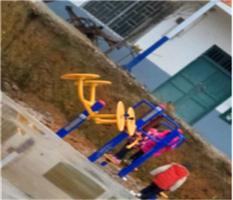 广西桂林临桂两江镇保全村委慈村安装户外健身器材及篮球架、乒乓球桌
