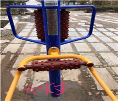 广西柳州小公园/社区路径健身器材-腰背按摩器