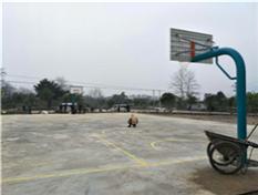 广西桂林临桂地埋式室外篮球架厂家提供包安装