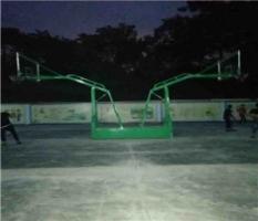 柳州卫校篮球架安装