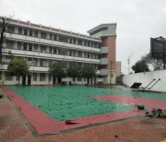 室外pvc篮球场施工