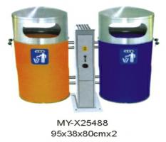 MY-X25488户外分类垃圾桶