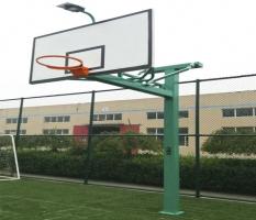 地埋式太阳能篮球架MYHJ-1012T